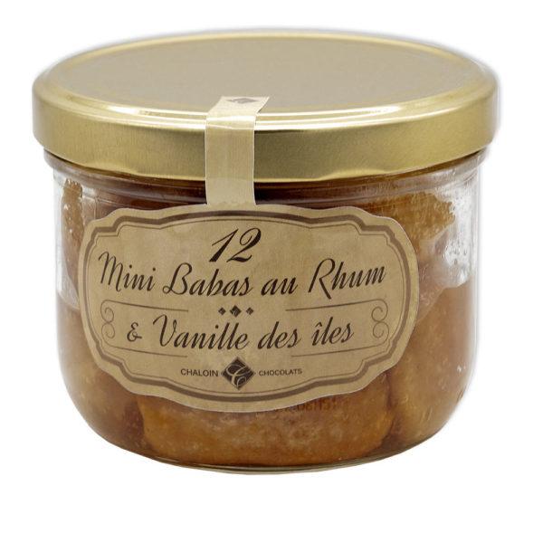 Mini Babas au Rhum Vanille des iles