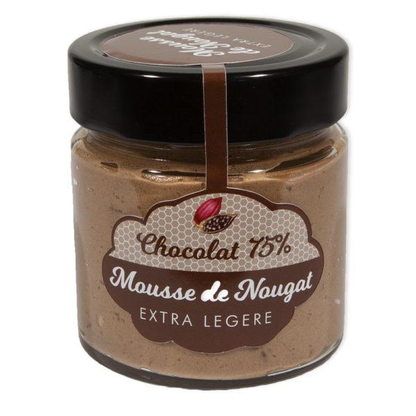 La Mousse de Nougat Chocolat