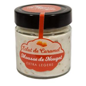 Chocolats chaloin La Mousse de Nougat Eclat de Caramel