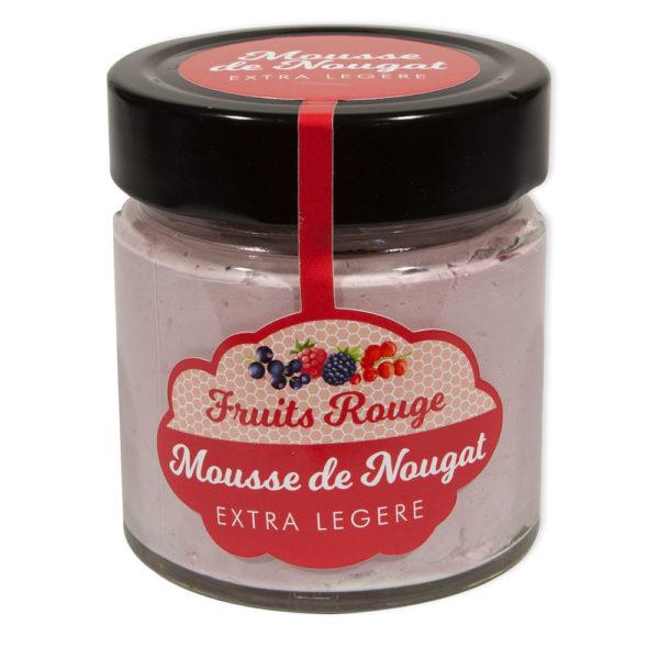 Mousse de Nougat gout Fruits Rouge